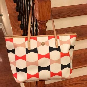 ♠️ Kate Spade Limited edition leather bow tote♠️